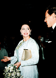 "PA NEWS PHOTO 27/5/69 PRINCESS MARGARET  AND HUSBAND LORD SNOWDON AT SADLERS WELLS THEATRE FOR ""LES GRANDS BALLET DES CANADIENS"". * 21/09/2000 Lord Snowdon's marriage to his second wife has ended in divorce."