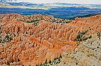 Inspiration Point,Bryce Canyon National Park, Elevation 8100, Utah, USA.