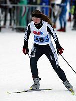 NM Junior Staffet Jenter 06.03.05,Anne Liv Lidtveit gikk siste etappe for mix laget Telemark/aust-agder 2 laget avsluttet som nr 2 av 3 i mix lag men nr 42 totalt,Foto: Richard Brevik, Digitalsport
