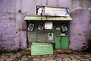 Un'attività commerciale nello slum di Canchis, Addis Ababa 25 settembre 2014.  Christian Mantuano / OneShot <br /> <br /> A shop in the slum in Canchis, Addis Ababa September 25, 2014.