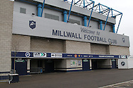 Cold Blow Lane Stand at Millwall football club before the Shrewsbury Town Sky Bet League 1 match at The Den, London<br /> Picture by Richard Brooks/Focus Images Ltd 07947656233<br /> 10/12/2016