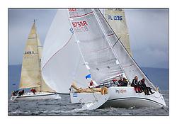 Brewin Dolphin Scottish Series 2011, Tarbert Loch Fyne - Yachting - Day 1 of the 4 day series..GBR7855R ,Imadjinn , Nick Stratton ,CCC ,A31..