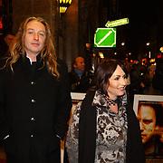 Premiere de Passievrucht, Angela Groothuizen en man Rob Mooij