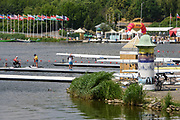 Poznan, POLAND, 20 June 2019, Thursday, General View, Boat Park,Para Rowing Training session,  FISA World Rowing Cup II, Malta Lake Course, © Peter SPURRIER/Intersport Images,<br /> <br /> 12:40:36
