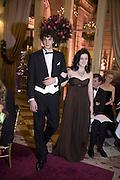KATHLEEN KENNEDY AND COMPTE PIERRE DE PAHLEN, Crillon Debutante Ball 2007,  Crillon Hotel Paris. 24 November 2007. -DO NOT ARCHIVE-© Copyright Photograph by Dafydd Jones. 248 Clapham Rd. London SW9 0PZ. Tel 0207 820 0771. www.dafjones.com.
