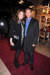 TAMARA ECCLESTONE and ROBERT MONTAGUE at the Cirque du Soleil's gala premier of Quidam held at the Royal Albert Hall, London on 6th January 2009