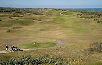 DOMBURG - Overzicht  van de Domburgsche Golf Club in Zeeland (Walcheren) .  Op de voorgrond hole 1.    COPYRIGHT KOEN SUYK