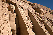 The Temple of Hathor at  Abu Simbel  Abu Simbel, Egypt