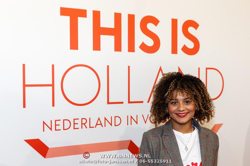NLD/Amsterdam/20180201 - Presentatie This is Holland, Stephanie van Eer