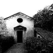 Sacro Monte di Varallo II° cappella: L'annunciazione..The Sacro Monte of Varallo II° chapel: The annunciation