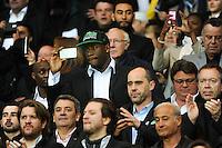 Joseph Gomis / Johan Passave Ducteil / Pascal DONNADIEU / Franck Le Goff  - 28.04.2015 - Paris Saint Germain / Metz - Match en retard - 32eme journee Ligue 1<br />Photo : Nolwenn Le Gouic / Icon Sport