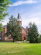 "Drake University's ""Old Main"" administrative building; Des Moines, Iowa"