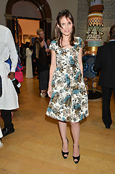 SHEHERAZADE GOLDSMITH at the annual Royal Academy of Art Summer Party held at Burlington House, Piccadilly, London on 4th June 2014.