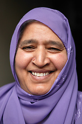 Portrait of a south Asian woman,