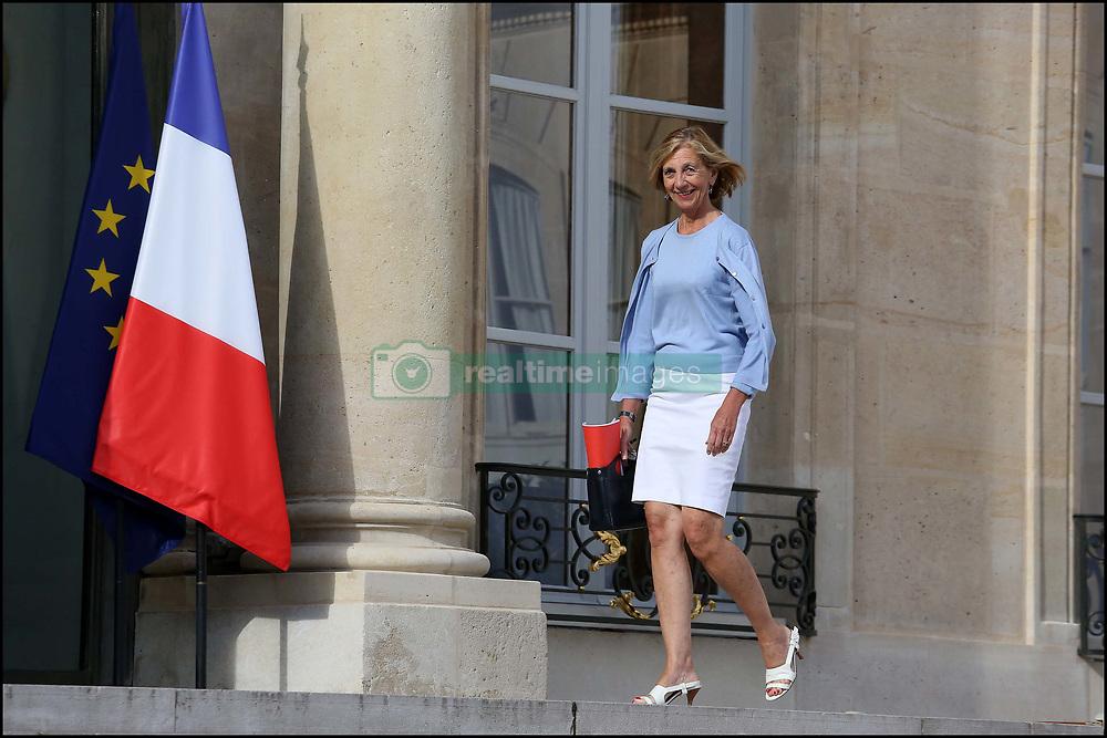 August 7, 2017 - Paris, France - NICOLE BRICQ - 19 AOUT 2013 - PARIS - FRANCE - SEMINAIRE DE RENTREE DU GOUVERNEMENT AYRAULT A L'ELYSEE (Credit Image: © Visual via ZUMA Press)