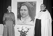 1977 - Golden Jubilee of St Therese Of Lisieux at Whitefriar St Church.  (L57)
