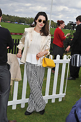 MIRANDA STURRIDGE at the Cartier Queen's Cup Polo Final, Guards Polo Club, Windsor Great Park, Berkshire, on 17th June 2012.