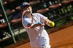 Play off Tennis U12 tournament at TD Slovan, on May 20, 2021 in Kodeljevo, Ljubljana, Slovenia. Photo by Vid Ponikvar / Sportida