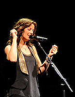 Sarah Mclachlan performs on stage during a 2011 tour stop in Kelowna, B.C. at Prospera Place.
