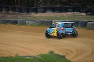 Michael Coyne - Mazda 2 - Rallycross Australia - Rnd 1 - February 26th 2017. MARULAN DIRT & TAR CIRCUITS, MARULAN, NSW
