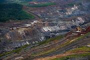 Itabira_MG, Brasil...Vista panoramica da Mina da Conceicao em Itabira, Minas Gerais...The panoramic view of the Conceicao coal mine in Itabira, Minas Gerais...Foto: LEO DRUMOND / NITRO