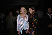 the hon Sophia Hesketh and Rose Hanbury. Celebration of Dunhill Motorities, Dunhill, 48 Jermyn St. London. 19 May 2005. ONE TIME USE ONLY - DO NOT ARCHIVE  © Copyright Photograph by Dafydd Jones 66 Stockwell Park Rd. London SW9 0DA Tel 020 7733 0108 www.dafjones.com