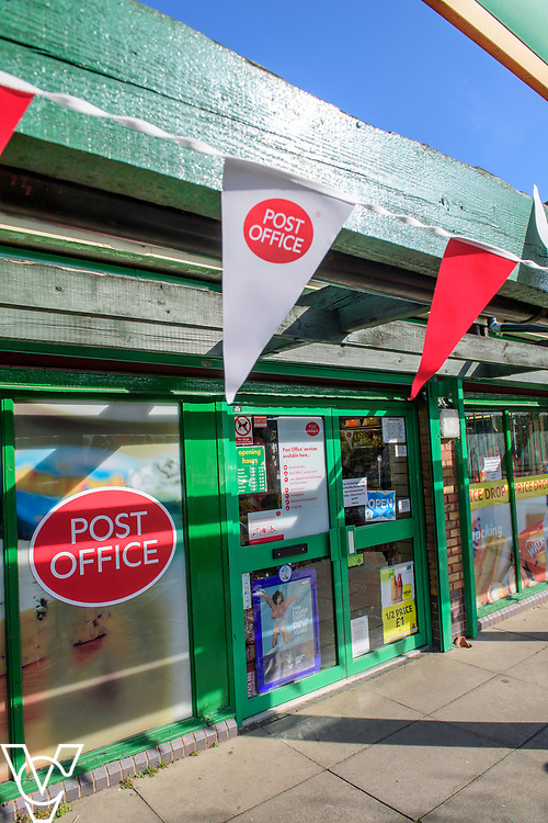 General view of the outside of the new Matley Post Office<br /> <br /> Shailesh Vara MP has cut the ribbon to official opening of the brand new Matley Post Office, part of the Londis Store, Matley, Orton Brimbles, Peterborough. The store is owned by Subramaniam Nithythasan and Subramaniam Nithaharan.<br /> <br /> Date: April 5, 2019