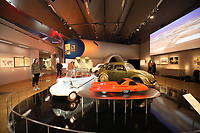 V&A's major autumn<br /> exhibition Cars: Accelerating the Modern World.The exhibition<br /> will include the first production car in existence, an<br /> autonomous flying car, a converted low-rider, and a 1950s<br /> concept car.<br /> <br /> The exhibition will look at the car as the driving force that accelerated the pace of the 20th<br /> century. The exhibition will bring together a wide-ranging selection of cars that have never<br /> been on display in the UK, each telling a specific story about their impact on the world.photo by <br /> Roger Alarcon
