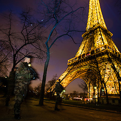 2016/02 Patrouilles Sentinelle à Paris
