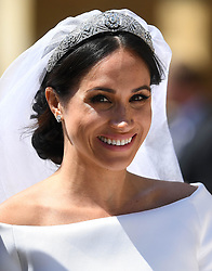 The Royal Wedding of Prince Harry to Meghan Markle at St George's Chapel, Windsor Castle, Windsor, Berkshire, UK, on the 19th May 2018. 19 May 2018 Pictured: Meghan Markle. Photo credit: James Whatling / MEGA TheMegaAgency.com +1 888 505 6342