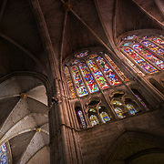 Leon cathedral climber