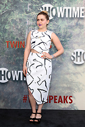 May 19, 2017 - Los Angeles, CA, USA - LOS ANGELES - MAY 19:  Mae Whitman at the ''Twin Peaks'' Premiere Screening at The Theater at Ace Hotel on May 19, 2017 in Los Angeles, CA (Credit Image: © Kay Blake via ZUMA Wire)