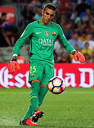 August 10, 2016 - Barcelona, Catalonia, Spain - Jordi Masip during the match corresponding to the Joan Gamper Trophy, played at the Camp Nou stadiium, on august 10, 2016. (Credit Image: © Joan Valls/NurPhoto via ZUMA Press)