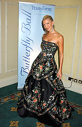Model CAPRICE BOURRET  at the Butterfly Ball in aid of the NSPCC held at The Intercontinental Hotel, Park Lane, London on 9th September 2005.<br /><br />NON EXCLUSIVE - WORLD RIGHTS