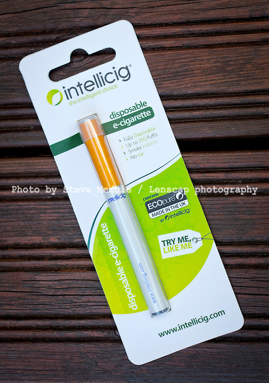 Intellicig - Disposable Electronic Cigarette a device that simulates the functions of a cigarette without the harmful chemicals - Jul 2013.