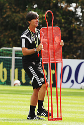 02.09.2015, Commerzbanarena, Frankfurt, GER, UEFA Euro 2016 Qualifikation, Deutschland, Training, im Bild Trainer Joachim Löw, Loew // during a training session of german national football team in front of the UEFA European Championship Qualifier matches against Poland and Scotland. Commerzbanarena in Frankfurt, Germany on 2015/09/02. EXPA Pictures © 2015, PhotoCredit: EXPA/ Eibner-Pressefoto/ Roskaritz<br /> <br /> *****ATTENTION - OUT of GER*****