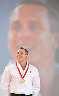 Commonwealth Games, Glasgow 2014<br /> 26.07.2014<br /> SECC Judo<br /> Men's -100kg Final<br /> <br /> Euan Burton of SCO  wins the Gold Medal<br /> <br /> <br />  Neil Hanna Photography<br /> www.neilhannaphotography.co.uk<br /> 07702 246823