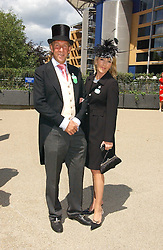 VISCOUNT & VISCOUNTESS DAVENTRY at the 3rd day - Ladies Day of Roayl Ascot 2006 on 22nd June 2006.<br /><br />NON EXCLUSIVE - WORLD RIGHTS