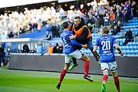 Fotball , Tippeligaen , Eliteserien<br /> 23.04.17 , 20170423<br /> Vålerenga - Sogndal <br /> Jonatan Tollås Nation jubler for sitt mål til 2-0<br /> Foto: Sjur Stølen / Digitalsport