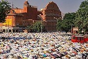 Eid festival, Palace of the winds, Jaipur, Rajasthan, India
