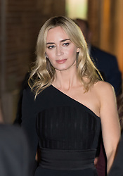 Emily Blunt is seen at 'Jimmy Kimmel Live' in Los Angeles, California. NON EXCLUSIVE November 14, 2018. 14 Nov 2018 Pictured: Emily Blunt. Photo credit: RB/Bauergriffin.com / MEGA TheMegaAgency.com +1 888 505 6342