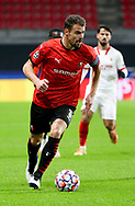 Damien Da Silva of Stade Rennais during the UEFA Champions League, Group E football match between Stade Rennais and Sevilla FC (FC Seville) on December 8, 2020 at Roazhon Park in Rennes, France - Photo Jean Catuffe / ProSportsImages / DPPI