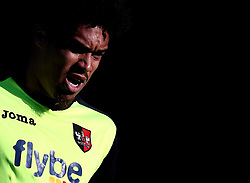 Troy Brown of Exeter City - Mandatory by-line: Robbie Stephenson/JMP - 14/05/2017 - FOOTBALL - Brunton Park - Carlisle, England - Carlisle United v Exeter City - Sky Bet League Two Play-off Semi-Final 1st Leg