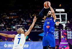 Luigi Datome of Italy during basketball match between National Teams of Finland and Italy at Day 10 in Round of 16 of the FIBA EuroBasket 2017 at Sinan Erdem Dome in Istanbul, Turkey on September 9, 2017. Photo by Vid Ponikvar / Sportida