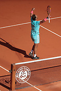 RAFAEL NADAL (ESP) during the Roland Garros 2020, Grand Slam tennis tournament, on October 4, 2020 at Roland Garros stadium in Paris, France - Photo Stephane Allaman / ProSportsImages / DPPI