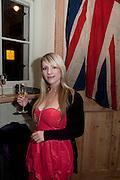 JESSICA PERSING, Launch of the Orange restaurant, 37 Pimlico Road, SW1W 8NE,  Thursday 29 October 2009