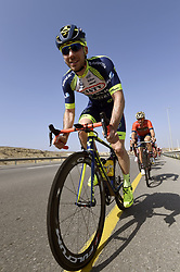 February 15, 2018 - Muscat, Oman - VALLEE Boris of Wanty - Groupe Gobert during stage 3 of the 9th edition of the 2018 Tour of Oman cycling race, a stage of 179.5 kms between German University of Technology and Wadi Dayqah Dam on February 15, 2018 in Muscat, Sultanate Of Oman, 15/02/2018 (Credit Image: © Panoramic via ZUMA Press)