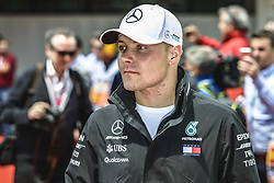 May 13, 2018 - Barcelona, Catalonia, Spain - VALTTERI BOTTAS (FIN), Mercedes, is presented to the crowd prior the Spanish GP at Circuit de Barcelona - Catalunya (Credit Image: © Matthias Oesterle via ZUMA Wire)