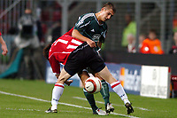 Fotball<br /> Champions League 2004/05<br /> PSV v Panathinaikos<br /> 29. september 2004<br /> Foto: Digitalsport<br /> NORWAY ONLY<br /> Rudolf Skacel in duel met Ji-Sung Park