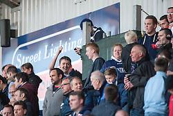 South stand.<br /> Falkirk 1 v 1 Hamilton, Scottish Premiership play-off semi-final first leg, played 13/5/2014 at the Falkirk Stadium.